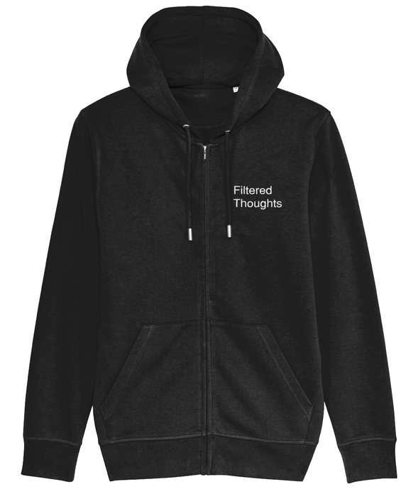 Filtered Thoughts Zip Hoodie - Mens