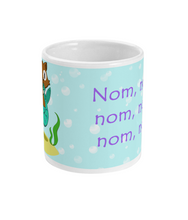 Load image into Gallery viewer, 11oz Purrmaid - Nom nom Mug