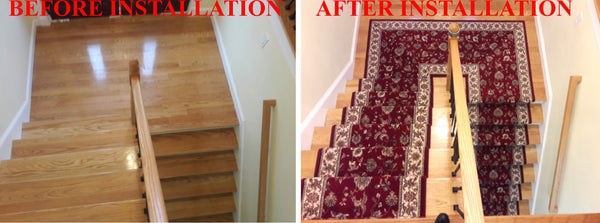 Solomon's Rug Staircase Runner Installation Services