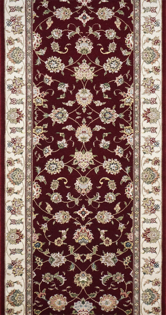 China Kashan Rug - Solomon's Collection & Fine Rugs