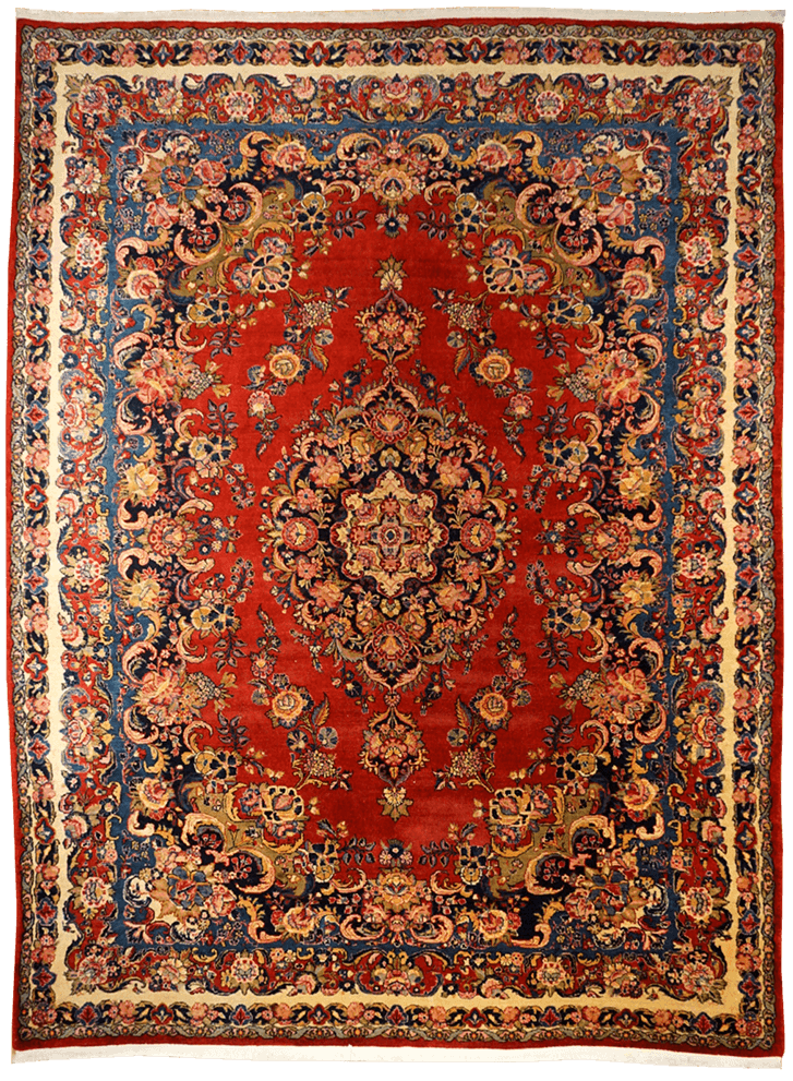 Persia (Iran) Kazvin Rug - Solomon's Collection & Fine Rugs