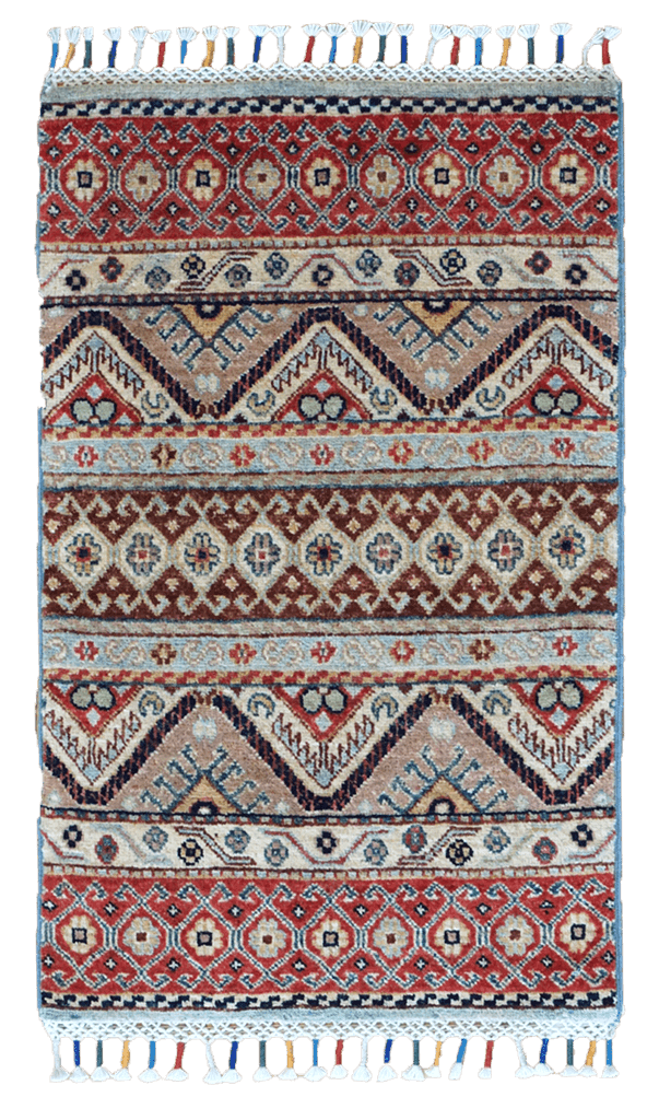 Afghanistan Stripes Rug - Solomon's Collection & Fine Rugs