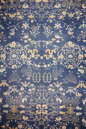 China Geometric Rug - Solomon's Collection & Fine Rugs