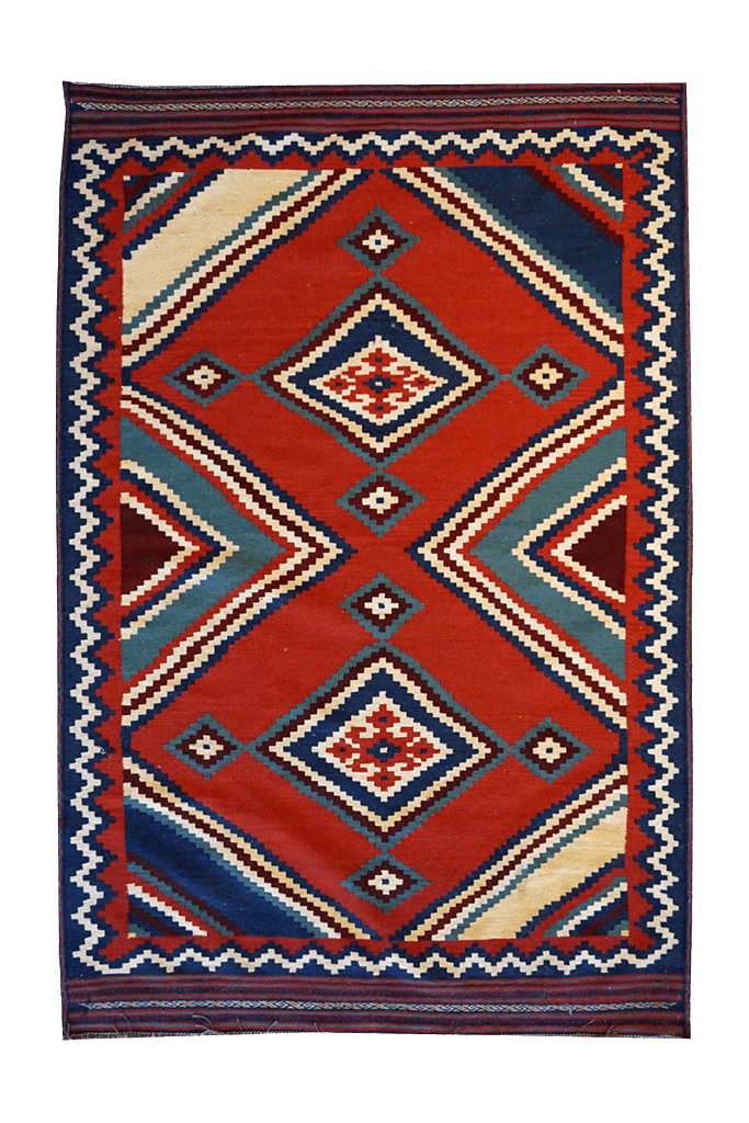 Pakistan Geometric Rug - Solomon's Collection & Fine Rugs