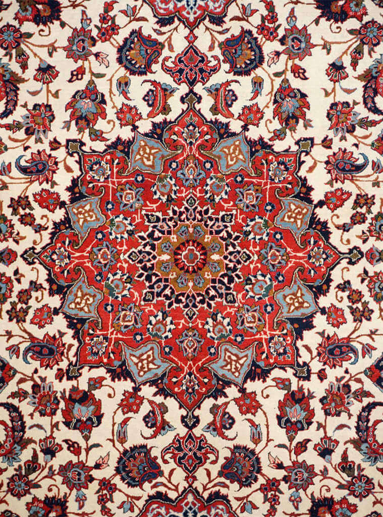 Persia (Iran) Isfahan Rug - Solomon's Collection & Fine Rugs