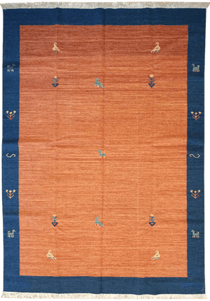 India Gabbeh Rug - Solomon's Collection & Fine Rugs