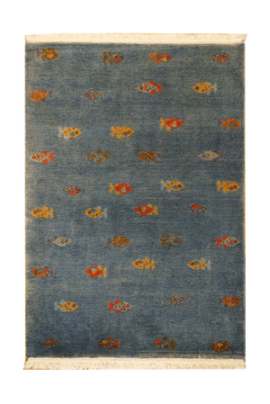 Tibet Fish Rug - Solomon's Collection & Fine Rugs