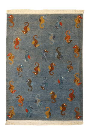 Tibet Sea horse Rug - Solomon's Collection & Fine Rugs