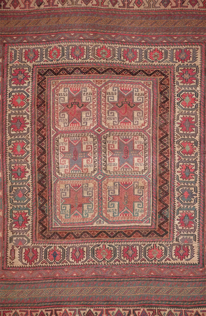 Afghanistan Meshwani Rug - Solomon's Collection & Fine Rugs