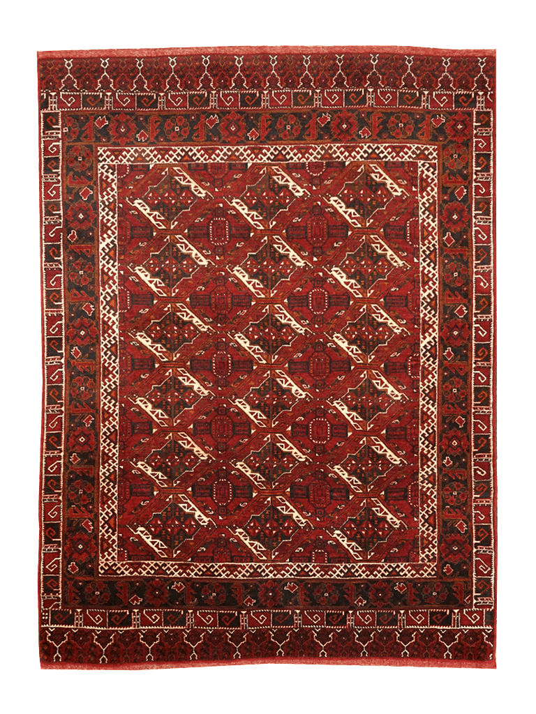 Afghanistan Turkeman Rug - Solomon's Collection & Fine Rugs