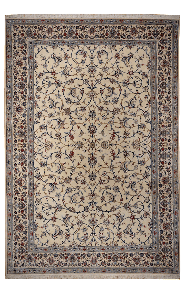 Persia (Iran) Nain Rug - Solomon's Collection & Fine Rugs
