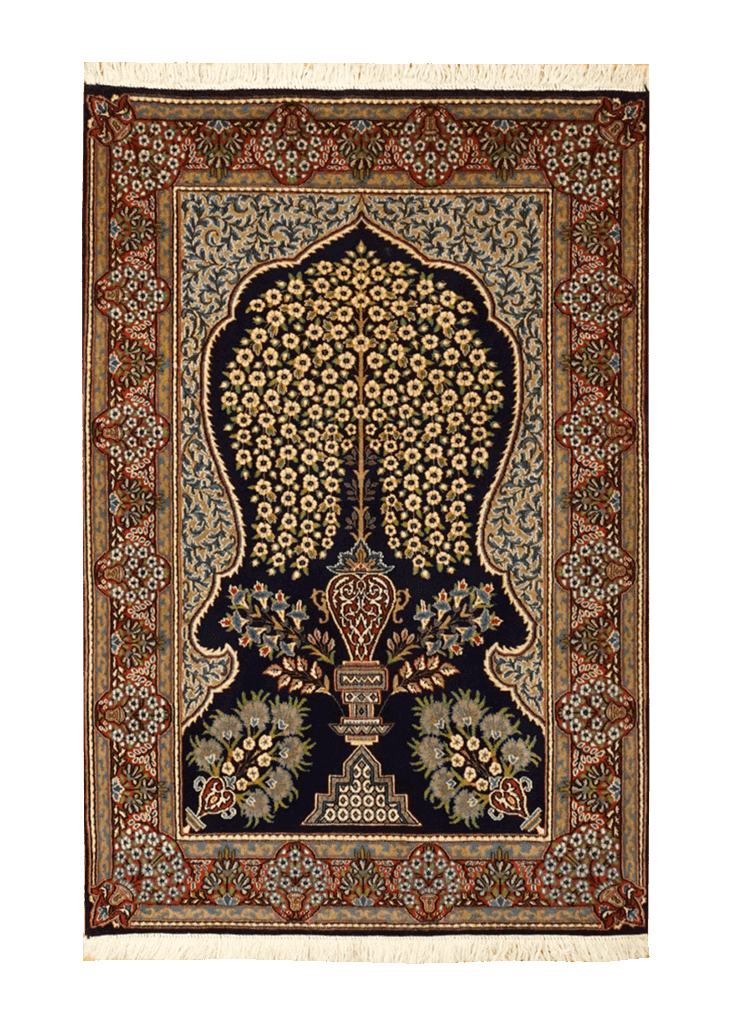 Persia (Iran) Ravar Kerman Rug - Solomon's Collection & Fine Rugs