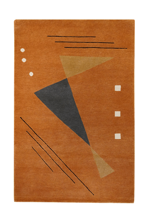 Tibet Triangles Rug - Solomon's Collection & Fine Rugs
