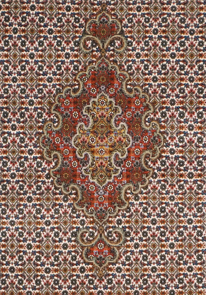 Persia (Iran) Tabriz, Fish Rug - Solomon's Collection & Fine Rugs