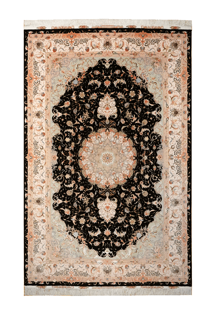 Persia (Iran) Tabriz, Floral Rug - Solomon's Collection & Fine Rugs