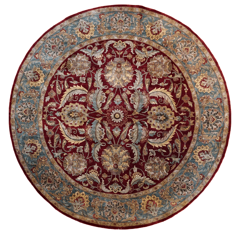 India Floral Rug - Solomon's Collection & Fine Rugs