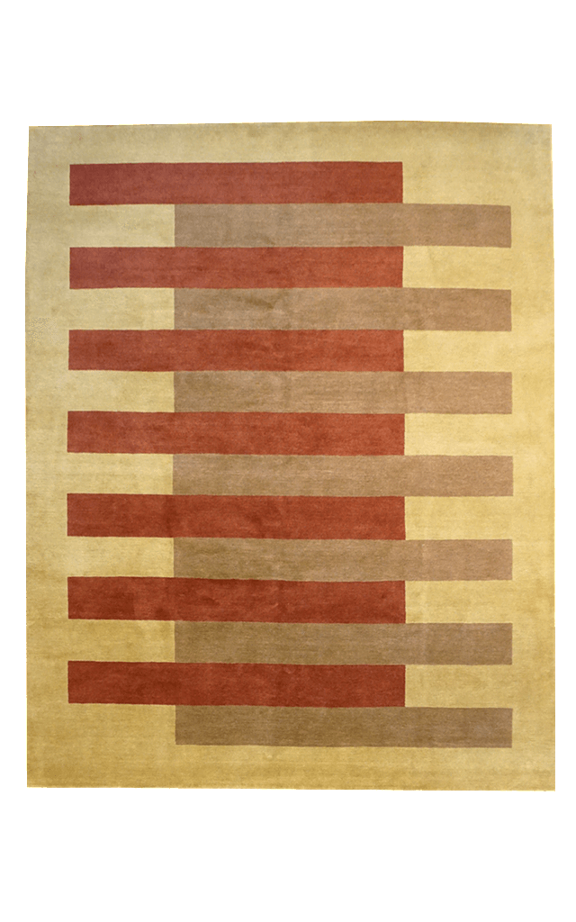 Tibet Bars Rug - Solomon's Collection & Fine Rugs
