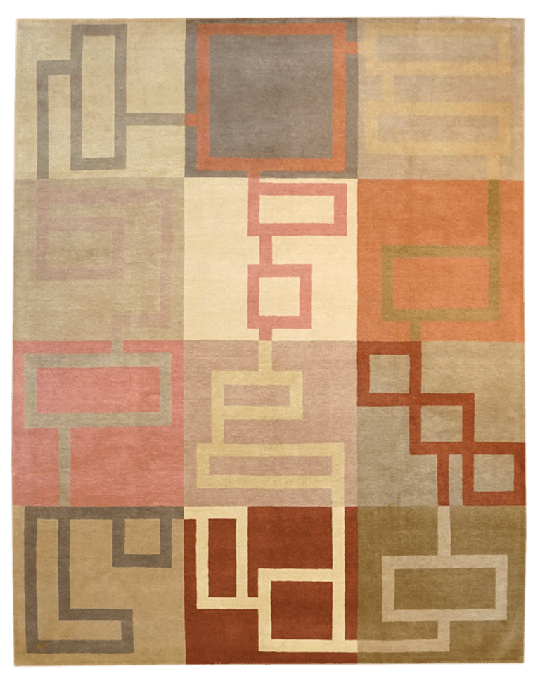 Tibet Maze Rug - Solomon's Collection & Fine Rugs