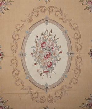China Aubusson Rug - Solomon's Collection & Fine Rugs