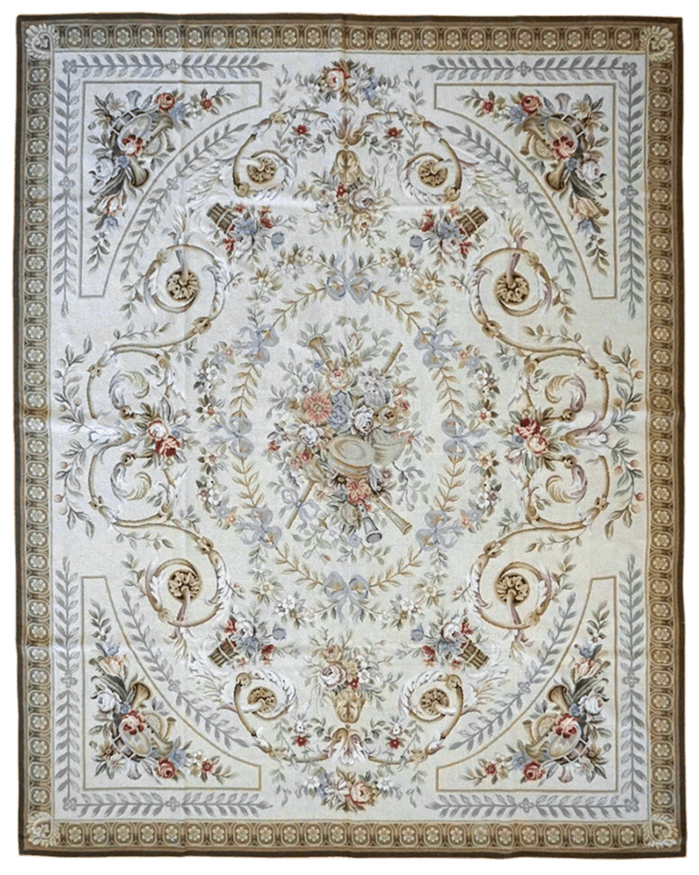 China Needle point Rug - Solomon's Collection & Fine Rugs