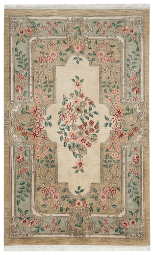 India Aubusson Rug - Solomon's Collection & Fine Rugs