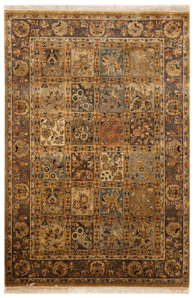 India Panels Rug - Solomon's Collection & Fine Rugs