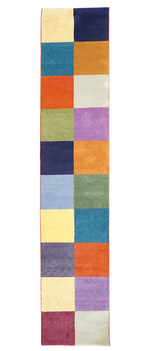 Tibet Color Squares Rug - Solomon's Collection & Fine Rugs