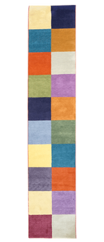 Tibet Color Squares Rug