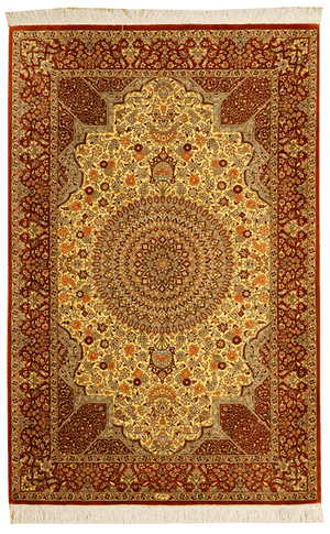 Persia (Iran) Kum Rug - Solomon's Collection & Fine Rugs