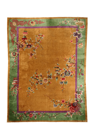 China Art Deco Rug - Solomon's Collection & Fine Rugs