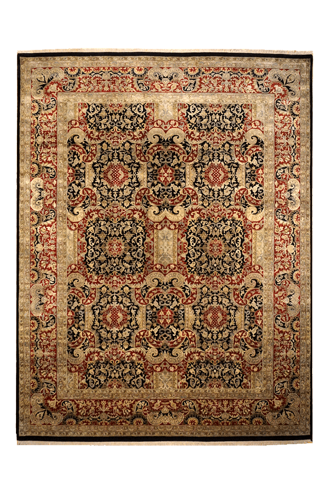 India Agra Rug - Solomon's Collection & Fine Rugs