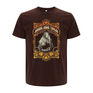 Art Deco Brown Tee