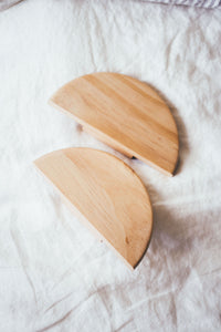 Circa Pine handles 140mm (pair)