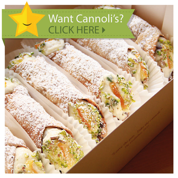 Cannoli Kuwait Box at Di Pietro