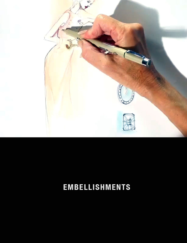 Fashion Drawing Series: Drawing Embellishments with Nancy Riegelman