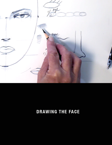 Fashion Drawing Sessions: Drawing the Fashion Face with Nancy Riegelman