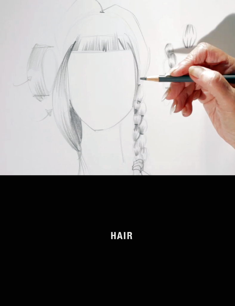 Fashion Drawing Sessions: Drawing Hair with Nancy Riegelman