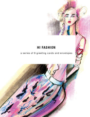 Hi Fashion Greeting Card Set