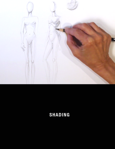 Fashion Drawing Sessions: Shading with Nancy Riegelman