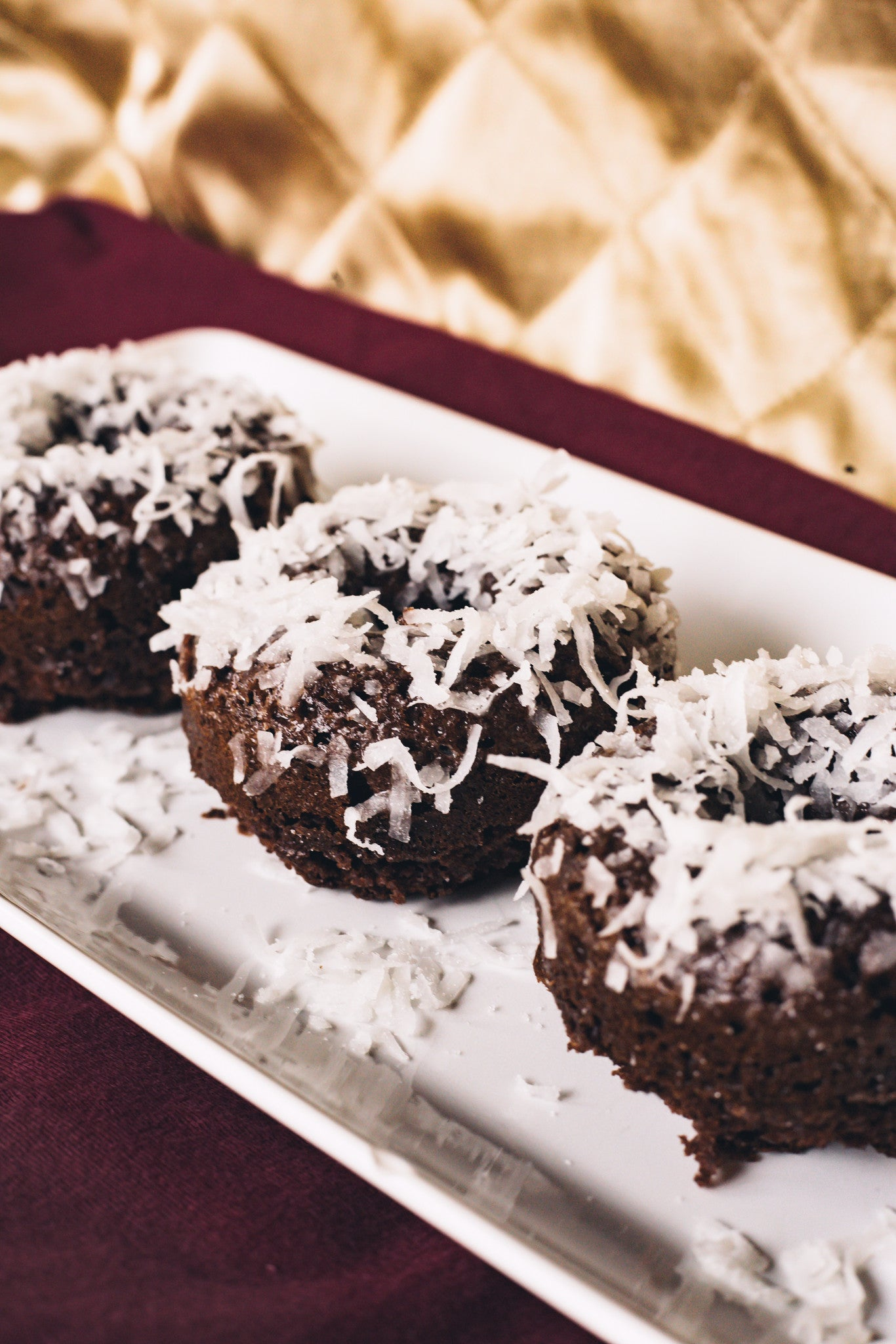 Chocolate Coconut Protein Donuts!