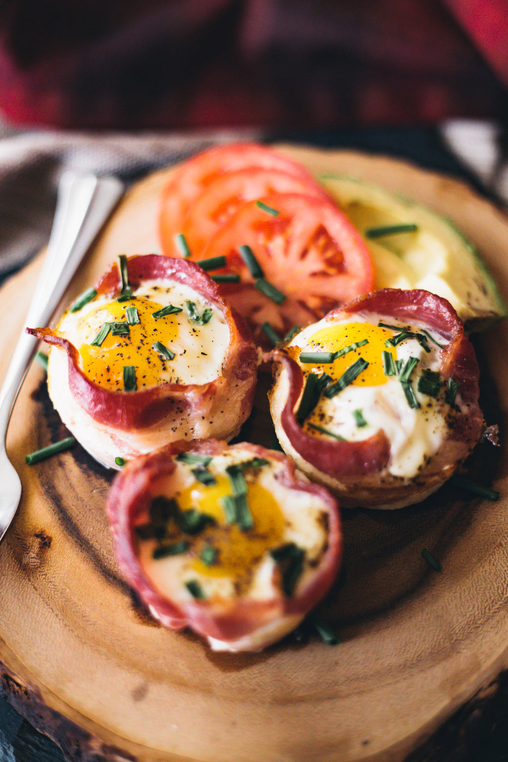 Easy, one pan... Bacon Egg Cups