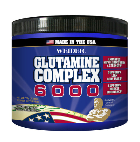 Glutamine Complex 6000 - Lemon Lime