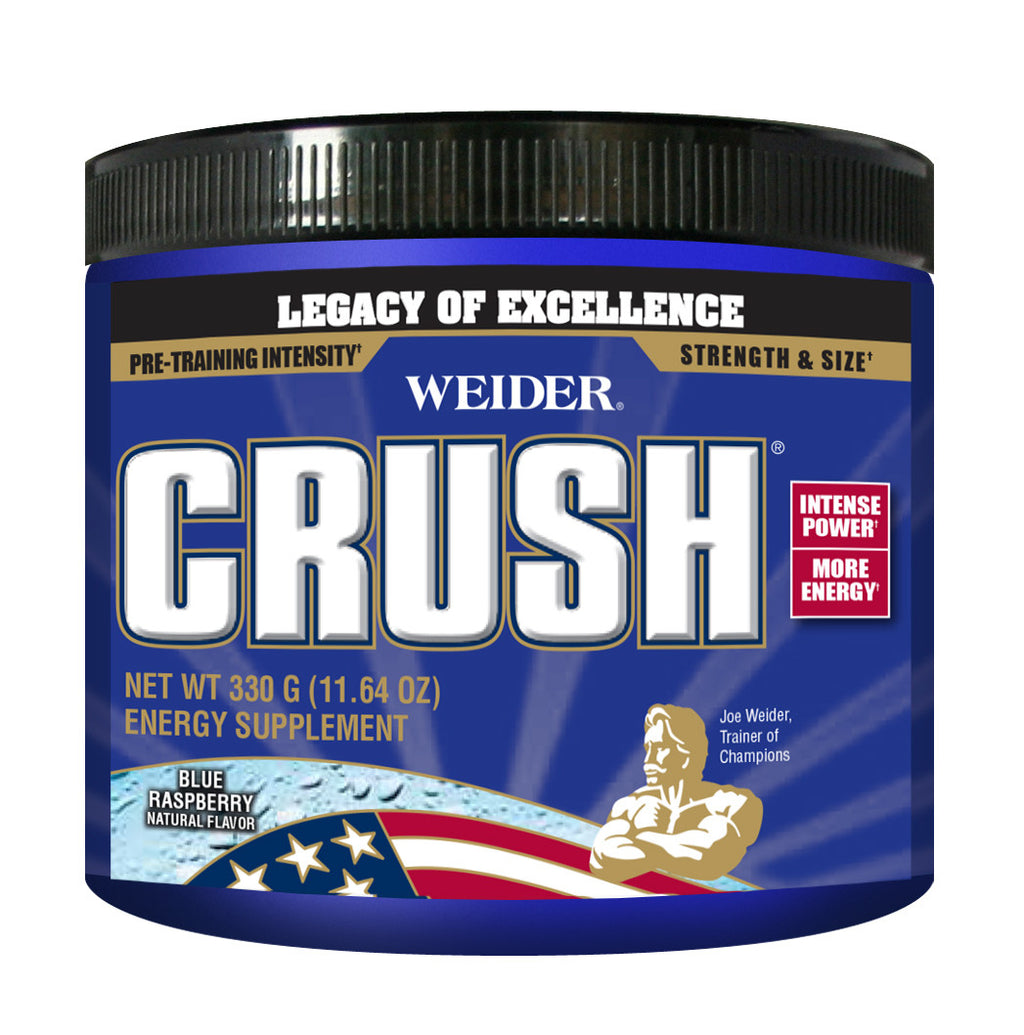 CRUSH Pre-Workout Powder - Blue Raspberry