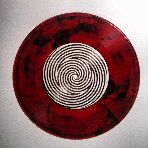 GRIM009 - Joel Monroe 7″ – Raw Series Intro - Subscription Variant Release (RED) – (25 copies)