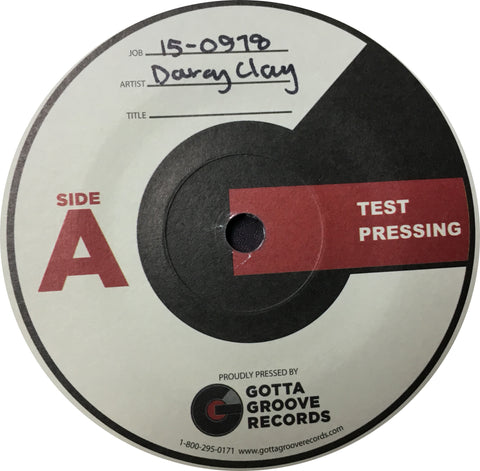 GRIM025 - Darcy Clay - Test Pressing