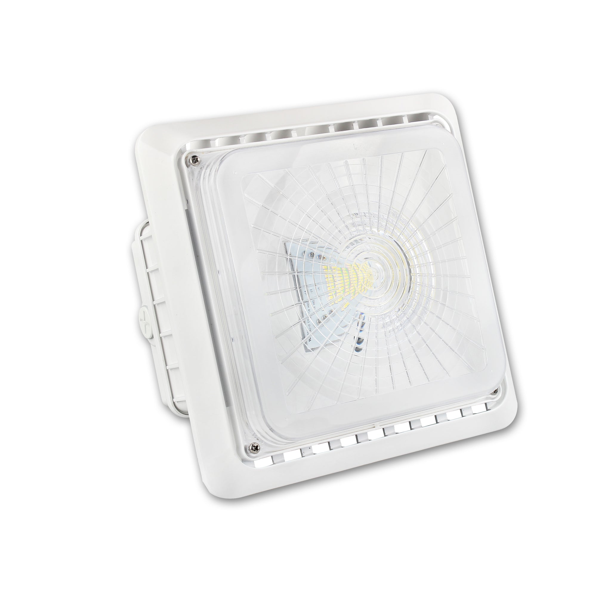 QPLUS LED Garage/ Parking Canopy Light - 40 Watt - 5000K Day Light - IP65 /cULus /277 - 480Volts
