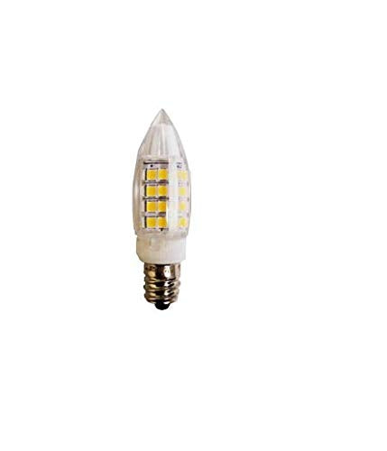 QPlus LED Light Bulb G9 with E12 Base - 6 Pack