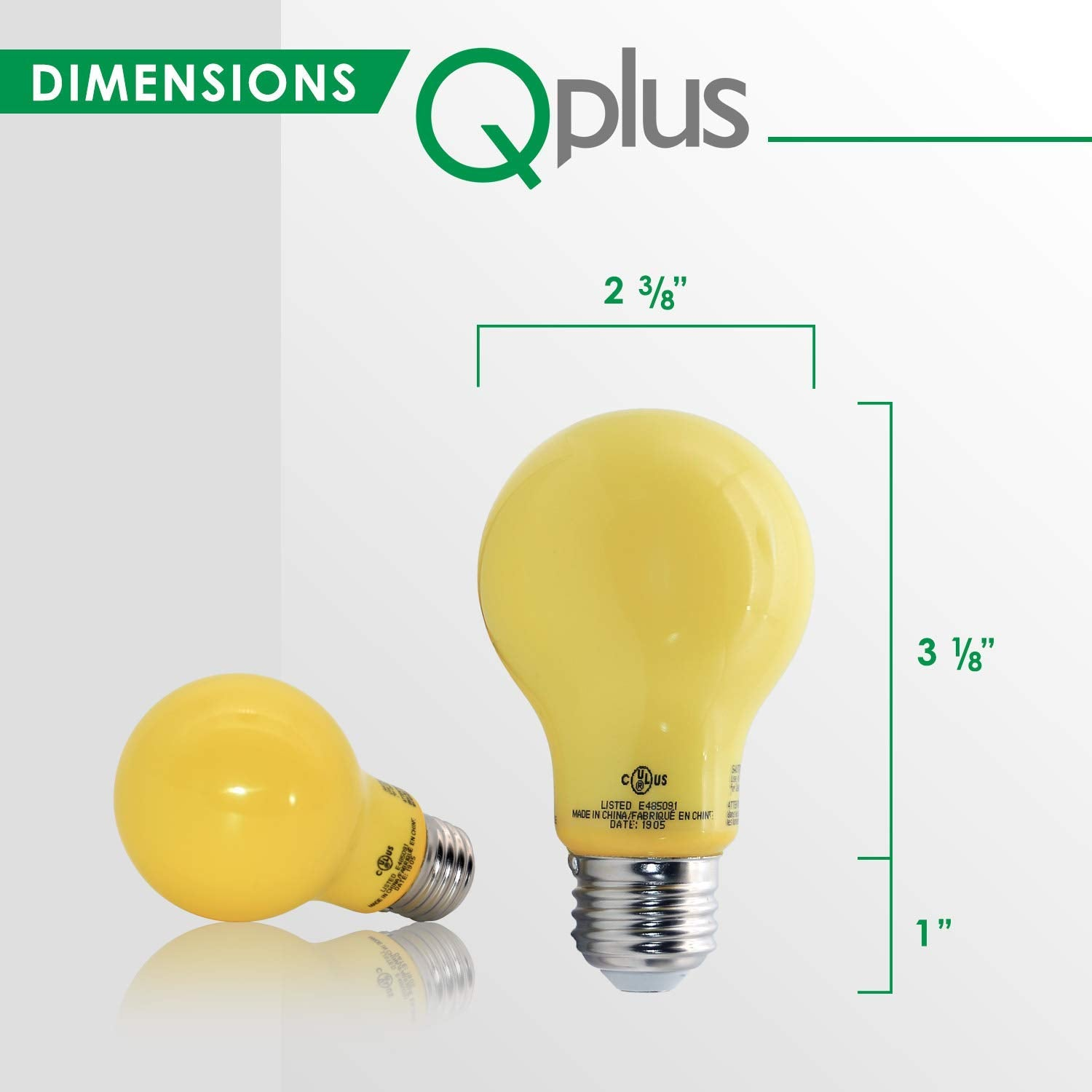 QPlus LED Bug/Insect/Mosquito Repellent Light Bulbs
