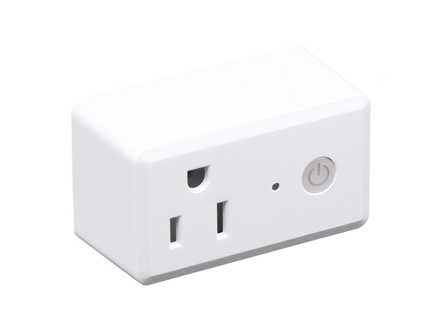 QPlus Smart Plug Socket (WiFi - No Hub) Alexa and Google Voice Control, App Control, Timer Function, FCC and cUL Certified
