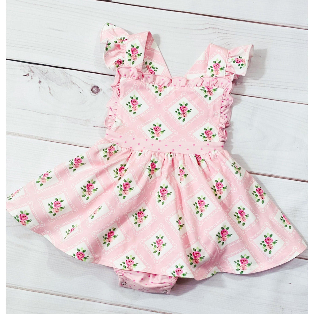 Swoon Baby - Dainty Bubble Dress Pink